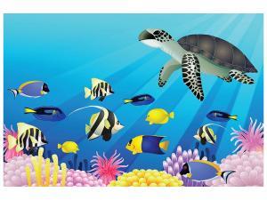 Ljudabsorberande tavla - Children`s Underwater World - SilentSwede