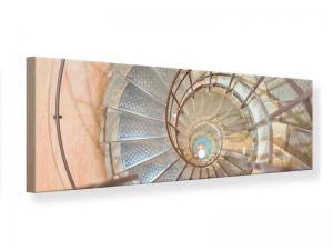 Ljudabsorberande panorama tavla - Spiral Staircase - SilentSwede