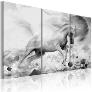 Ljuddämpande tavla - A unicorn on the edge of the world - SilentSwede