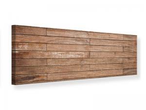 Ljudabsorberande panorama tavla - Walnut Panels - SilentSwede