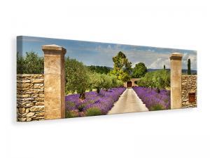 Ljuddämpande tavla - Lavender Garden - SilentSwede