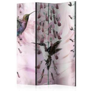 Rumsavdelare - Flying Hummingbirds (Pink) - SilentSwede