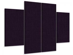 Ljudabsorbent vägg - SilentSwede® Wall - 4-parts One - SilentSwede