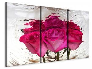 Ljuddämpande tavla - The Rose Reflection - SilentSwede