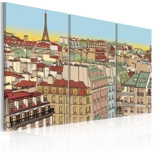 Ljuddämpande tavla - Sweet Paris - SilentSwede