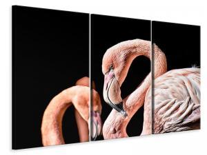 Ljuddämpande tavla - Magnificent flamingos - SilentSwede