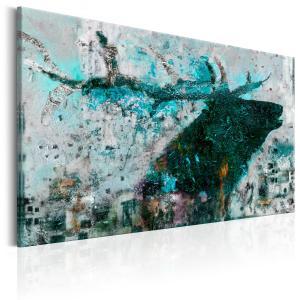 Ljuddämpande tavla - Sapphire Deer - SilentSwede