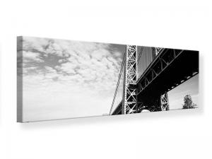 Ljudabsorberande panorama tavla - George Washington Bridge - SilentSwede