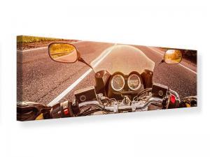 Ljudabsorberande panorama tavla - Motorcycle Tour - SilentSwede