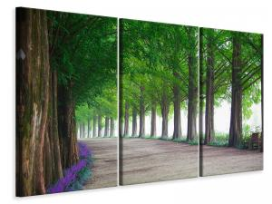 Ljuddämpande tavla - Beautiful tree avenue - SilentSwede