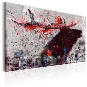 Ljuddämpande tavla - Ruby Deer - SilentSwede