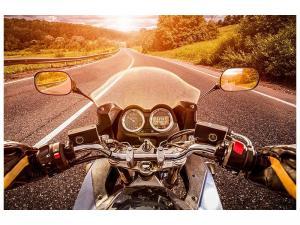 Ljuddämpande tavla - Motorcycle Tour - SilentSwede