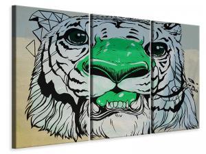 Ljuddämpande tavla - Graffiti tiger - SilentSwede
