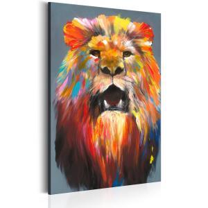 Ljuddämpande tavla - King of Colours - SilentSwede