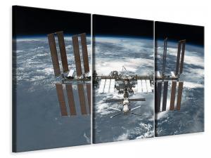 Ljuddämpande tavla - A satellite - SilentSwede