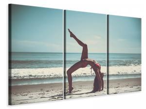 Ljuddämpande tavla - Beach gymnastics - SilentSwede