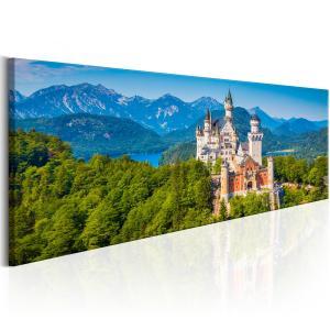 Ljuddämpande tavla - Magic Places: Neuschwanstein Castle - SilentSwede