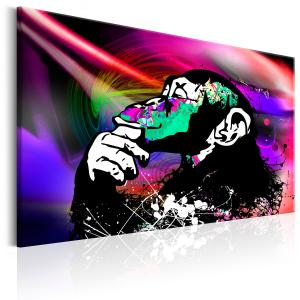 Ljuddämpande tavla - Colourful Party - SilentSwede