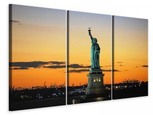 Ljuddämpande tavla - Statue of liberty in the evening light - SilentSwede