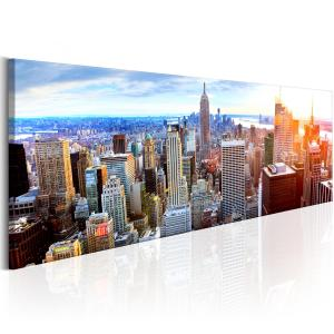 Ljuddämpande & ljudabsorberande tavla - Beautiful Manhattan - SilentSwede