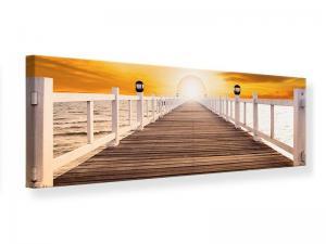 Ljudabsorberande panorama tavla - The Bridge On Happiness - SilentSwede