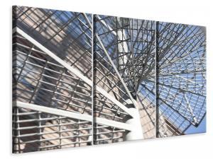 Ljuddämpande tavla - Spiral staircase made of metal - SilentSwede
