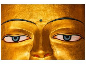 Ljudabsorberande tavla - The Eyes Of Buddha - SilentSwede