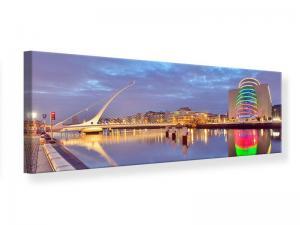 Ljudabsorberande panorama tavla - Samuel Beckett Bridge - SilentSwede