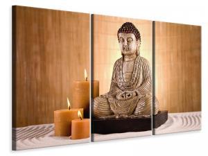 Ljuddämpande tavla - Buddha In Meditation - SilentSwede