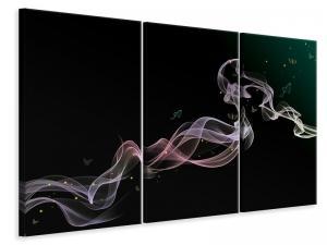 Ljuddämpande tavla - Colorful smoke - SilentSwede