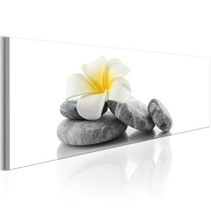 Ljuddämpande tavla - White Lotus - SilentSwede