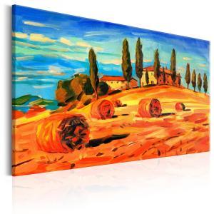 Ljuddämpande tavla - August in Tuscany - SilentSwede