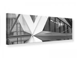 Ljudabsorberande panorama tavla - Part Of A Skyscraper - SilentSwede