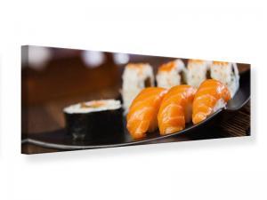 Ljudabsorberande panorama tavla - Sushi Dish - SilentSwede