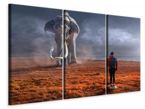 Ljuddämpande tavla - Fantasy mammoth - SilentSwede