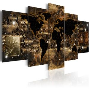 Ljuddämpande tavla - World of bronze - SilentSwede