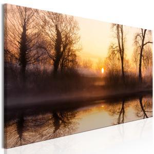 Ljuddämpande tavla - Winter Sunset - SilentSwede