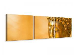 Ljuddämpande tavla - Buddha Head - SilentSwede