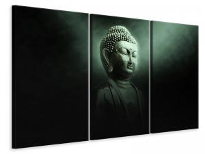 Ljuddämpande tavla - Buddha in mystical light - SilentSwede
