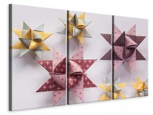 Ljuddämpande tavla - Origami colorful stars - SilentSwede