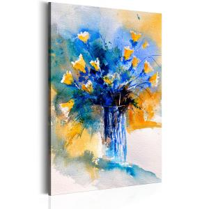 Ljuddämpande tavla - Flowery Artistry - SilentSwede