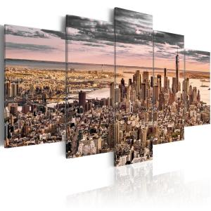 Ljuddämpande tavla - New York City: Morning Sky - SilentSwede