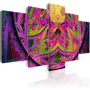 Ljuddämpande tavla - Mandala: Pink Power - SilentSwede