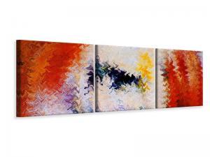 Ljudabsorberande 3 delad tavla-Wall Painting - SilentSwede