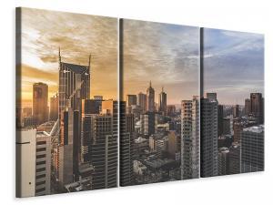 Ljuddämpande tavla - Big city architecture - SilentSwede