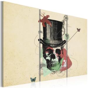 Ljuddämpande tavla - Gentleman's skeleton - SilentSwede