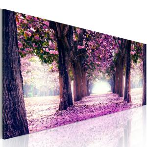 Ljuddämpande tavla - Purple Spring - SilentSwede
