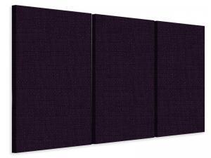 Ljudabsorbent vägg - SilentSwede® Wall - 3-parts One - SilentSwede