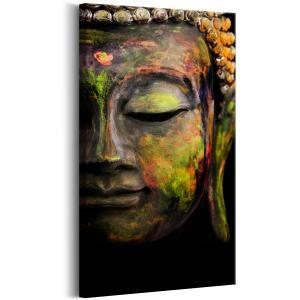 Ljuddämpande tavla - Buddha's Face - SilentSwede
