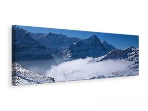Ljuddämpande tavla - Sun Terrace In The Swiss Alps - SilentSwede